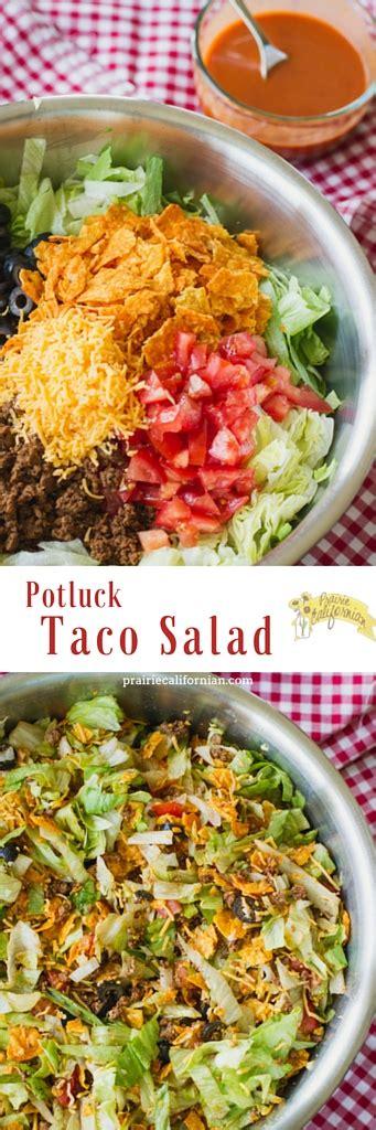 potluck salad potluck taco salad