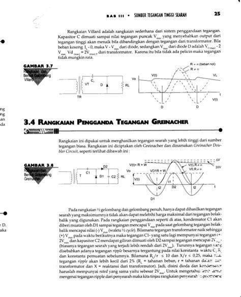 diode tegangan tinggi dasar pembangkit dan pengukuran teknik tegangan tinggi