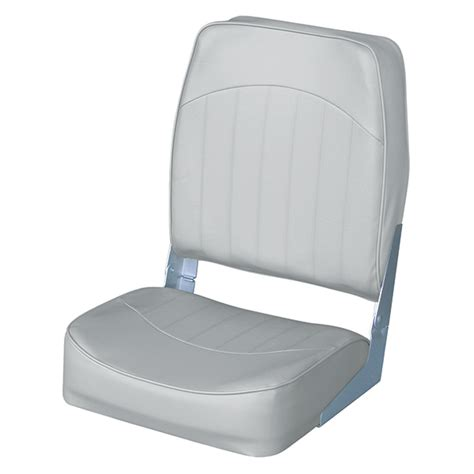 high back boat seat covers wise seating high back boat seat gray west marine