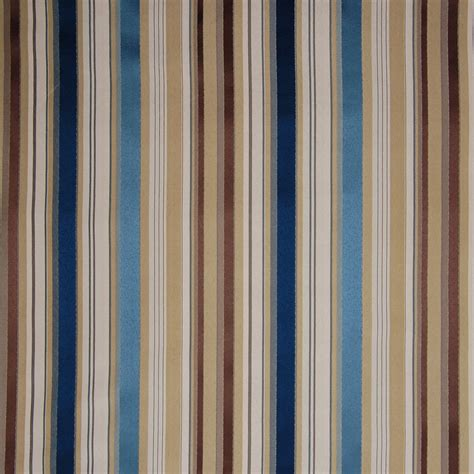 Upholstery Fabric Stripes by Bluestone Blue Stripe Upholstery Fabric