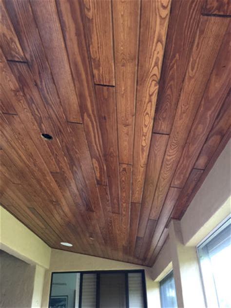 tongue and groove ceiling installation brevard and indian river county wood cypress and pine