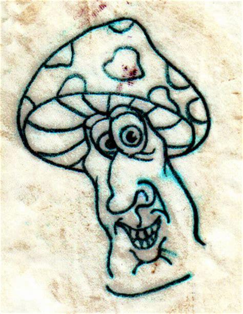 mushroom tattoo by jag uitartist on deviantart