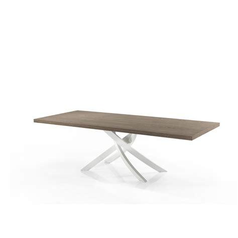 comodini bontempi bontempi casa tavolo artistico fisso 200x106 legno