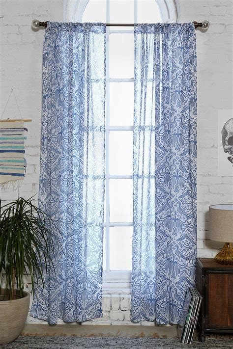 urban curtains magical thinking aviary curtain urban outfitters