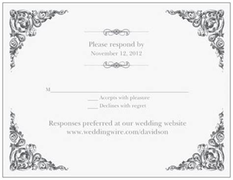 Weddingwire Rsvp by Rsvp Wording Weddings Etiquette And Advice