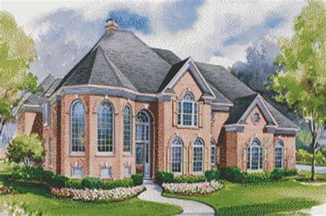 2 story european house plans house plan 120 1948 4 bedroom 4428 sq ft luxury european home tpc
