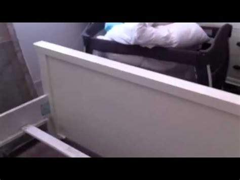 Broken Bed Frame From Jeromes Youtube Broken Bed Frame