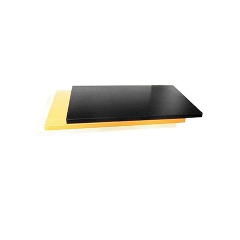 Black Melamine Shelf Board by Particle Board Timber Shelf 600x400mm Black