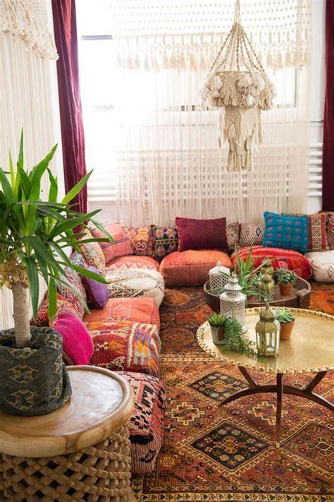 boho floor pillow ideas  living room floor