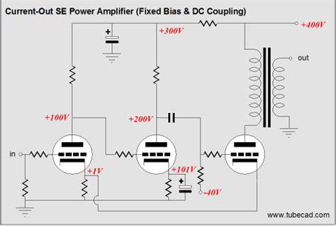 fixed bias cathode resistor feedforward shunt regulator watt current lifiers