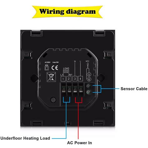 termostato per riscaldamento a pavimento termostato per riscaldamento a pavimento wifi 6