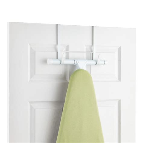 white over the door ironing board hanger the container store