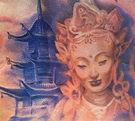 lady buddha by sal tino tattoonow