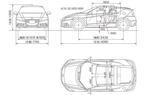 Honda Cr V Kofferraum Abmessungen by Re Honda Crz Cr Z Bilder Daten Abmessungen Leistung