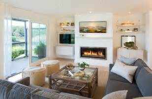 Stageneck Modern   Beach Style   Living Room   portland maine   by Marcye Philbrook
