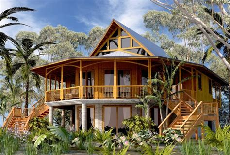 Bamboo Houses by Bamboo House Bamboo