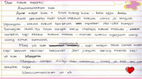 9 contoh surat cinta tulisan tangan romantis putrasunda