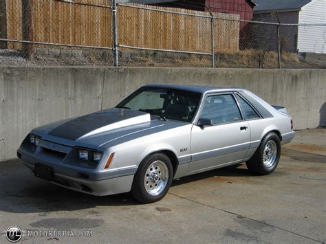 1986 Ford Mustang by 1986 Ford Mustang Information And Photos Momentcar
