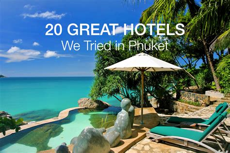 best resorts in phuket 22 best hotels in phuket we tried and loved phuket 101