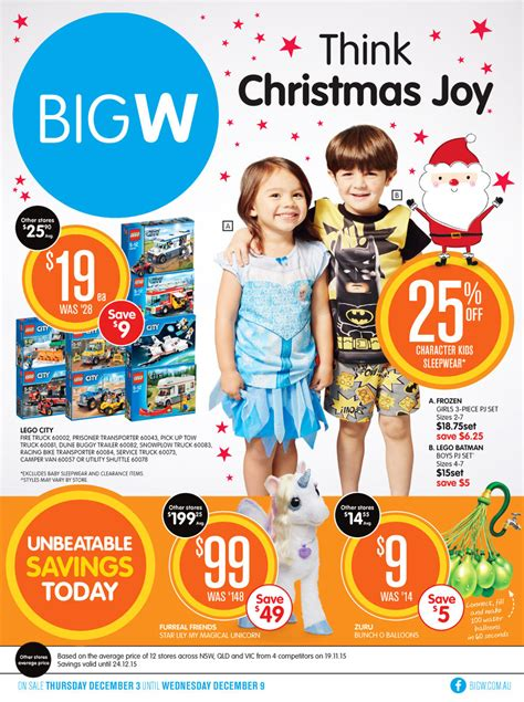 big w catalogue think christmas toy sale