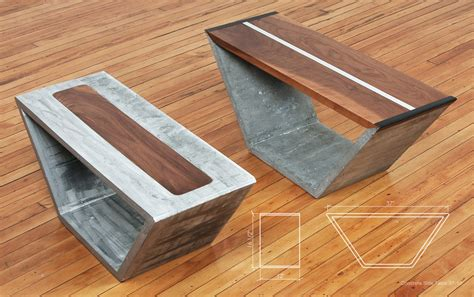 How To Make A Concrete Coffee Table Concrete Coffee Tables You Can Buy Or Build Yourself