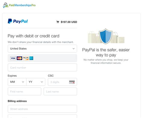 paypal payment page template customizing your paypal checkout page design
