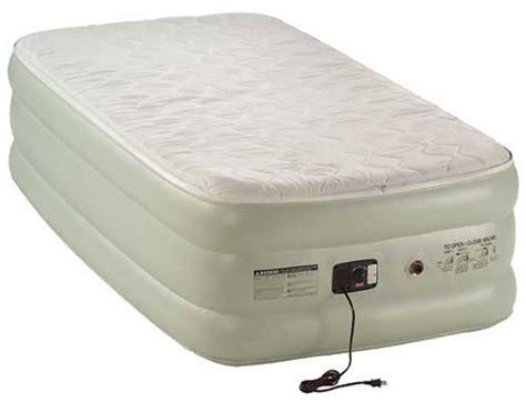 coleman air mattress quality air bed