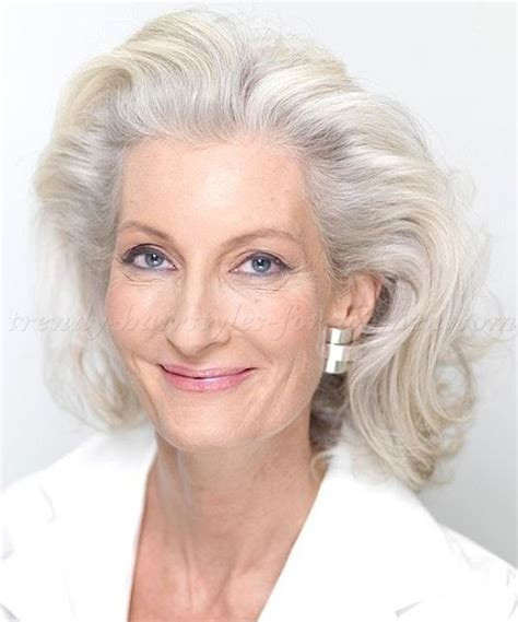 shoulder length hairstyles gray hair 4621 best images about gray hair grey hair silver hair