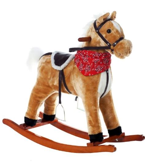 Kiddieland Push N Go Pony Kuning the 1 for u rocking with sounds and movement nutmeg