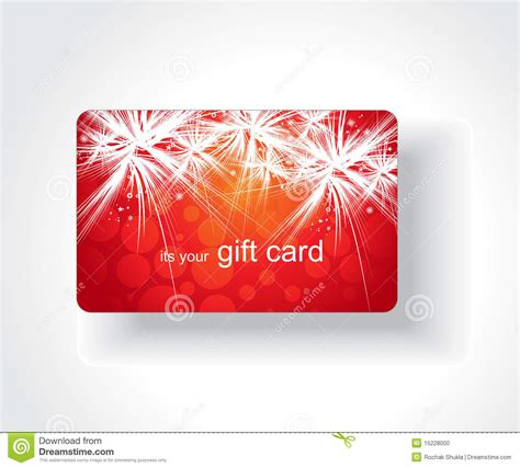 Stk Gift Card - beautiful gift card stock photo image 15228000