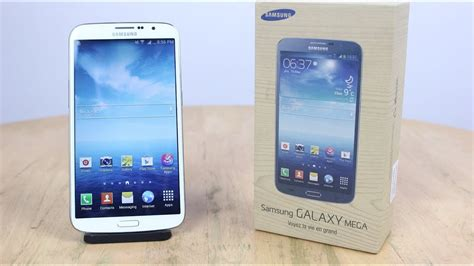 samsung galaxy mega gt  unboxing youtube