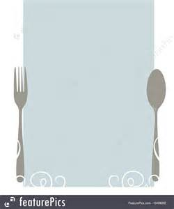 Empty Menu Templates by Templates Blank Menu Template Stock Illustration