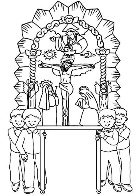 imagenes para colorear señor de los milagros recursos para educaci 243 n inicial im 193 genes del se 209 or de los