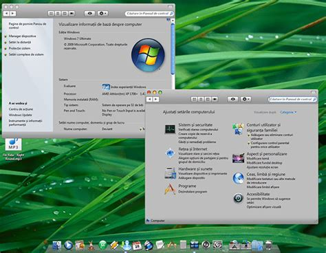 themes for windows 7 like mac transform windows7 rc to mac os x leopard with r2 theme