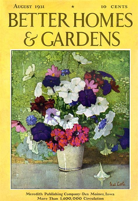 Better Homes And Gardens Magazine Phone Number by Better Homes And Gardens 1931 08