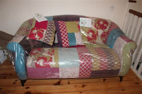 Patchwork Corner Sofa - shout patchwork corner sofa sofa review