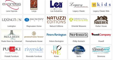 brands of couches furniture brands