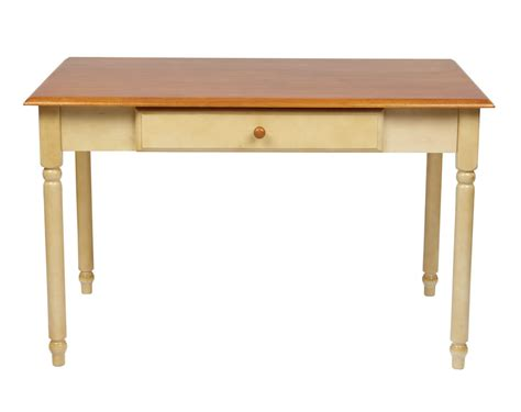 wood writing desk with drawers wood cherry country buttermilk finish computer writing