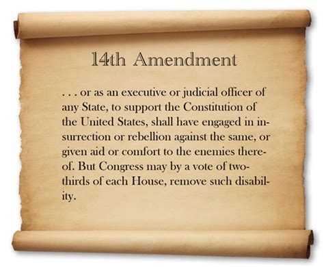 what section of the constitution is the bill of rights 14th amendment 7