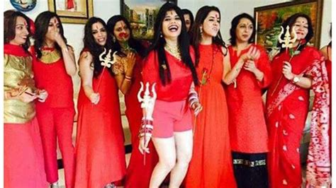 New Themes For Kitty Party | radhe maa theme based kitty party new trend in town youtube