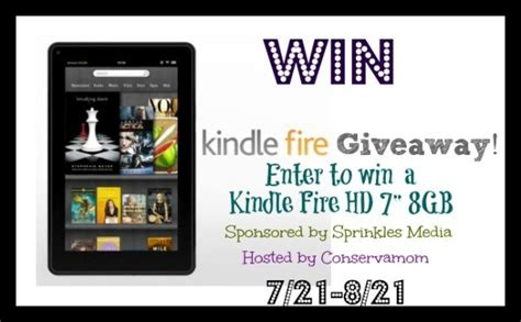 Kindle Fire Giveaway Facebook - kindle fire hd giveaway ends 8 21
