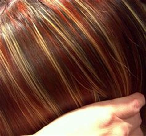 images of multi colored highligts hair on pinterest chunky highlights blonde highlights
