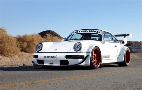 rauh welt porsche green sweet and tender hoonigan rauh welt 911 turbo debuts at