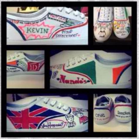 diy one direction shoes 30 best diy one direction images on bricolage