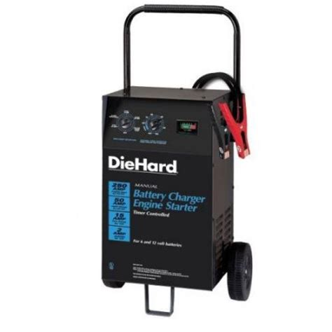 diehard battery charger and engine starter diehard 71240 wheeled battery charger engine starter for