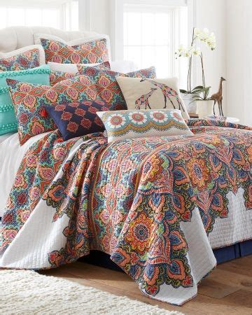 C F Bright Paisley Quilt Collection by Give Your Bedroom A Burst Of Color With A Bright Floral