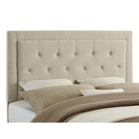 tufted headboard designs atlin designs full queen tufted panel headboard in natural