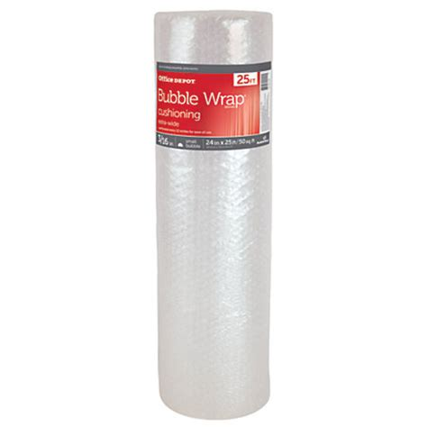 office depot brand roll wide 316 thick clear