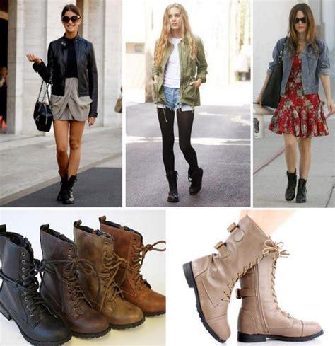 wear  combat boots
