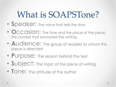 What Is The Occasion In Soapstone ppt soapstone powerpoint presentation id 417474
